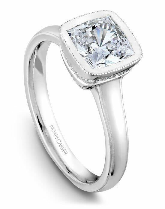 Noam Carver B026-01WS-100A Engagement Ring photo