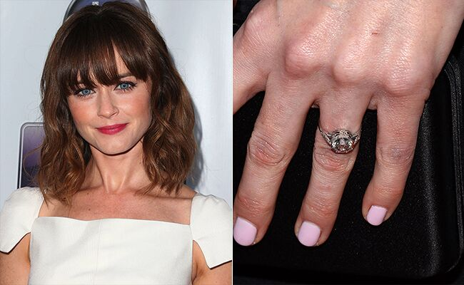 Alexis Bledel Engagement Ring
