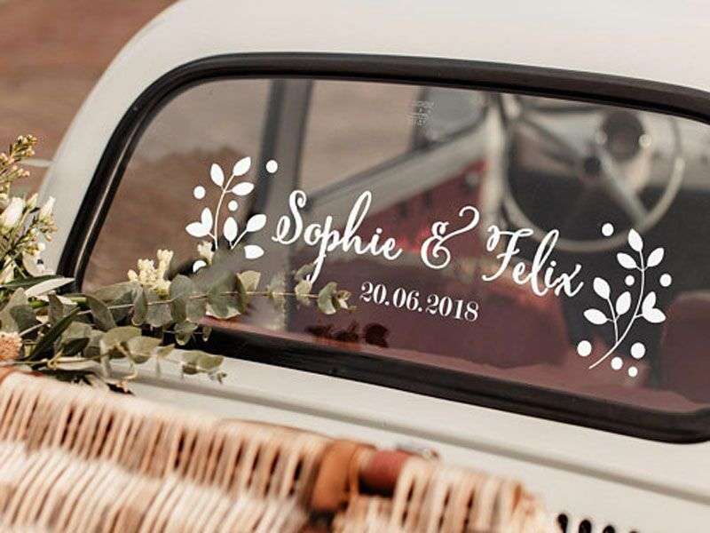 13 Perfect Wedding Car Decorations For That Just Married Ride