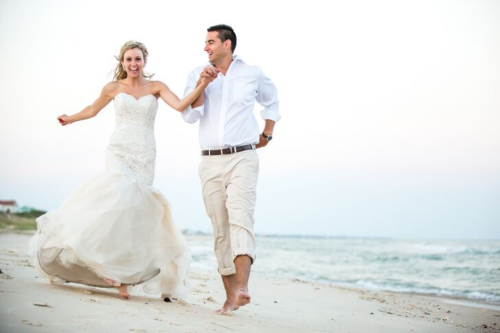 An Intimate Beach Wedding At A Private Residence On St George Island Florida