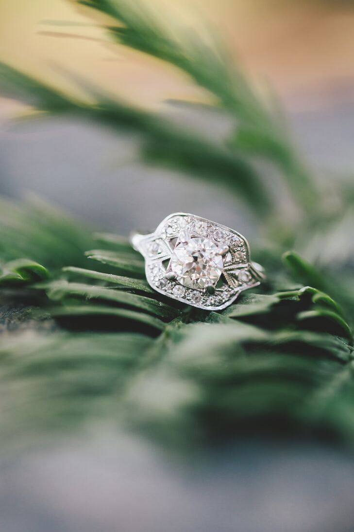 """My ring was my grandmother's who gave it to my mother. She gave it to my husband as a complete surprise to me,"" says Anna. rn"