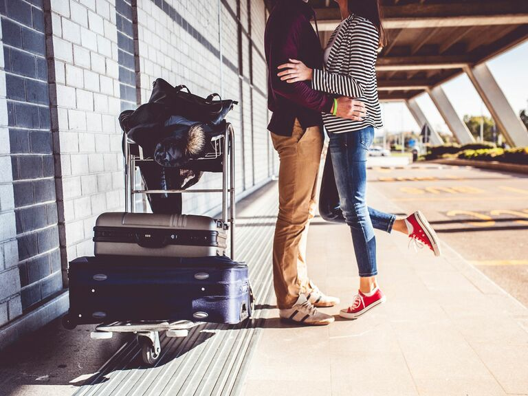 traveling couple