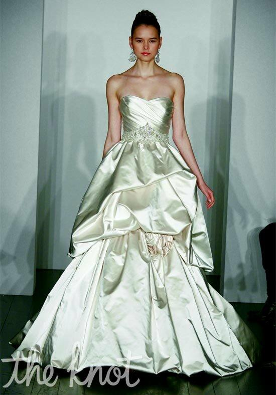 Kenneth Pool Royalty Wedding Dress photo