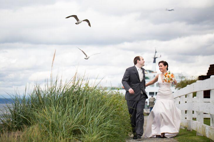 A Nautical Waterfront Wedding At The Rosehill Community Center In Mukilteo Washington