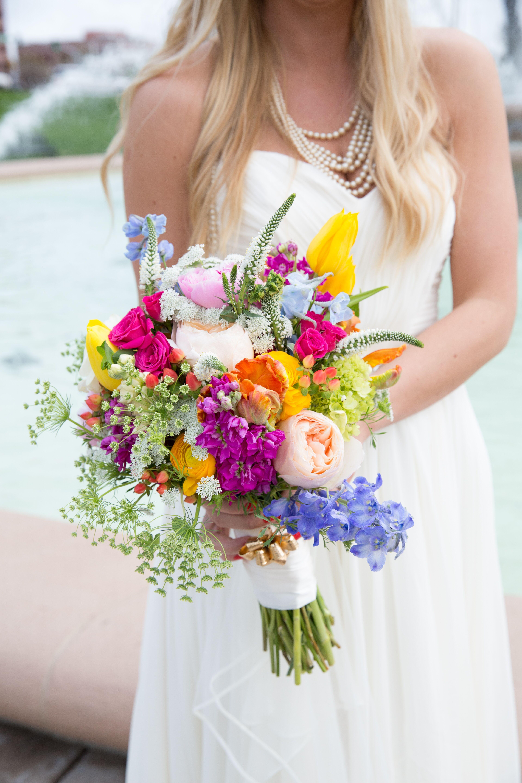 Sunflower Wild Flower Bouquet