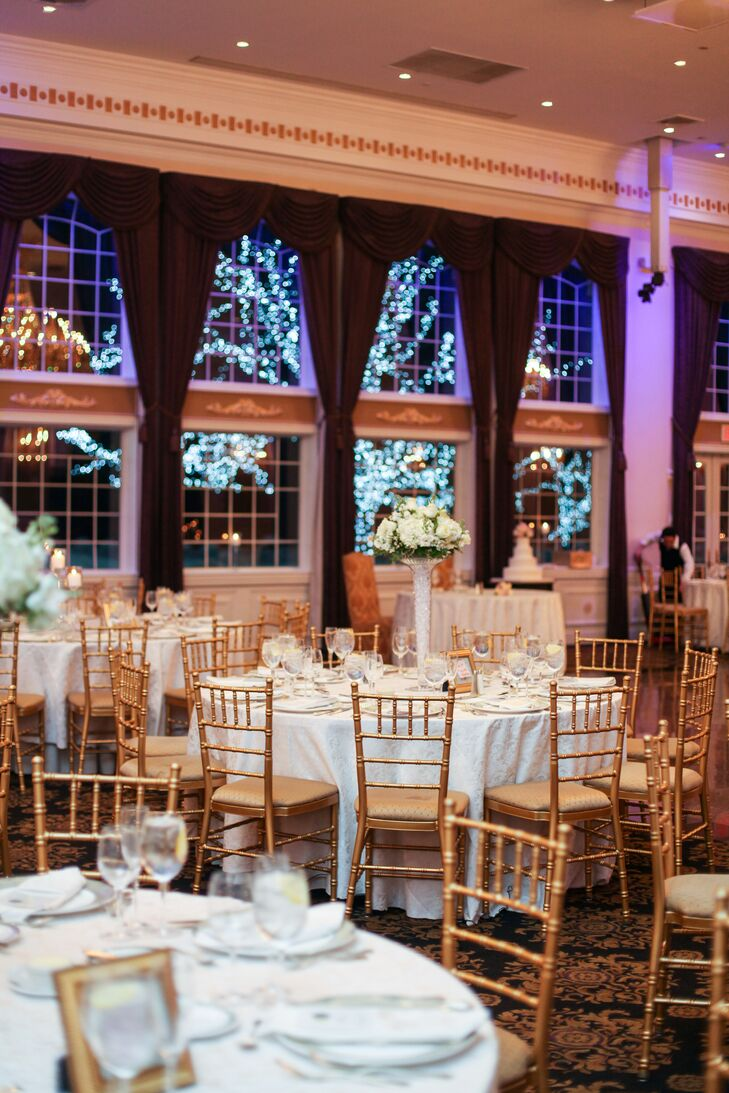 A Winter Ballroom Wedding At The Estate At Florentine Gardens In River Vale New Jersey