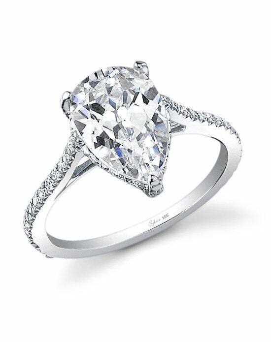 Sylvie Collection SY483 Engagement Ring photo