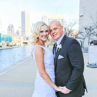 A Modern Glam Wedding in Indianapolis