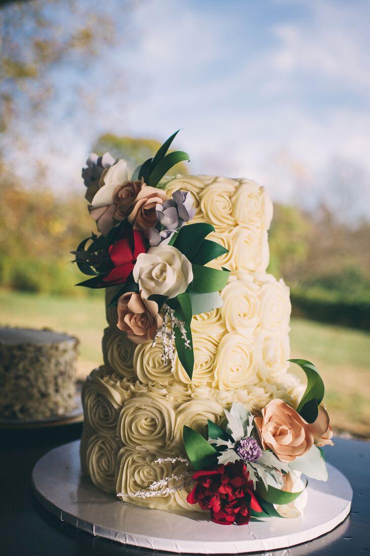 Wedding Cake of Many Flavors