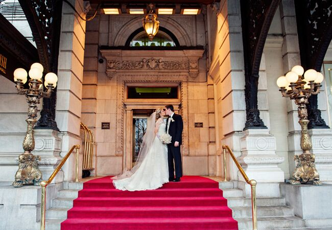 See How A Real Life Eloise Got Married At The Plaza Hotel