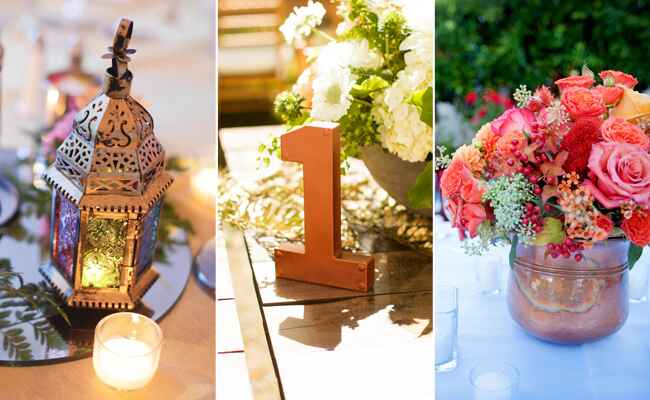 Copper Wedding Details | blog.TheKnot.com