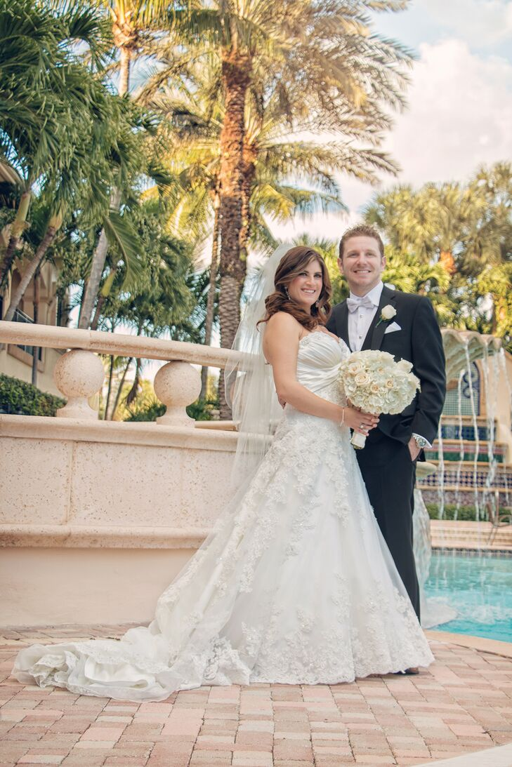 A Traditional Jewish Wedding at Mizner Country Club in Delray Beach ...