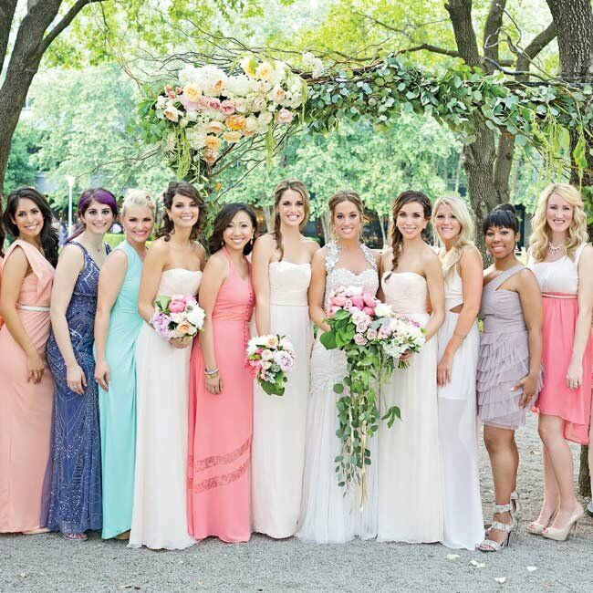 A Colorful Wedding At Marie Gabrielle Restaurant And