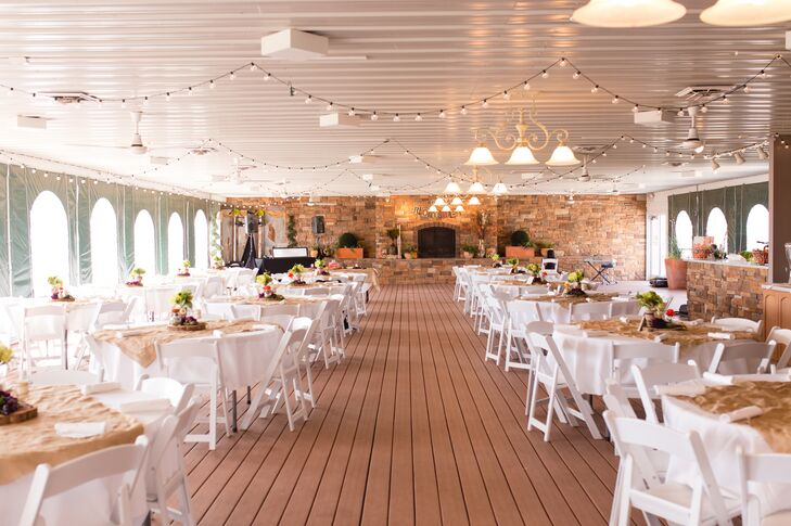 Rustic Wine Country Gardens Reception