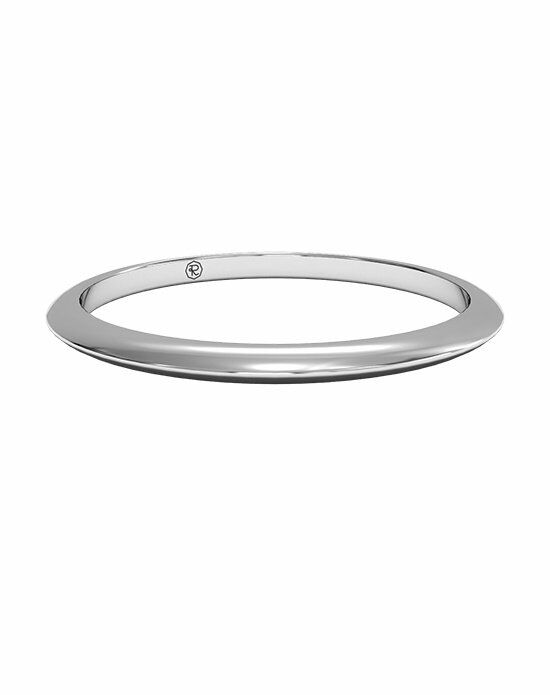 Ritani Women's Classic Knife-Edge Wedding Band in 14kt White Gold Wedding Ring photo