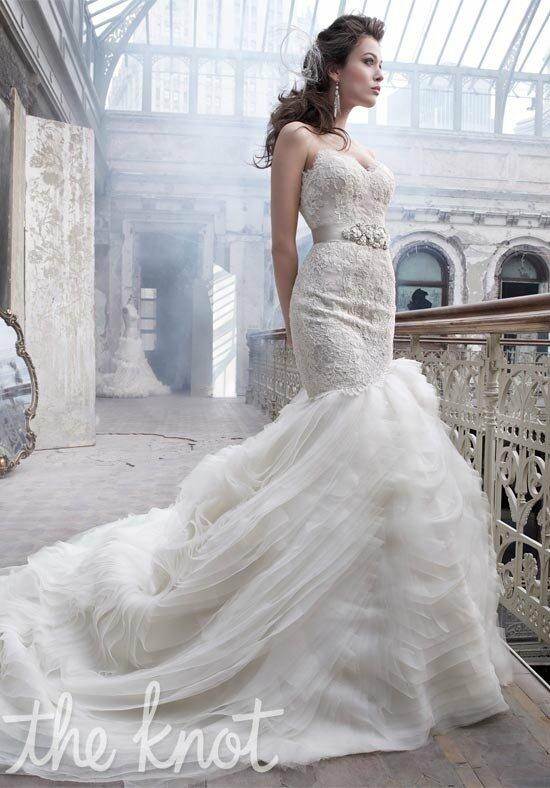 Lazaro 3201 Wedding Dress photo