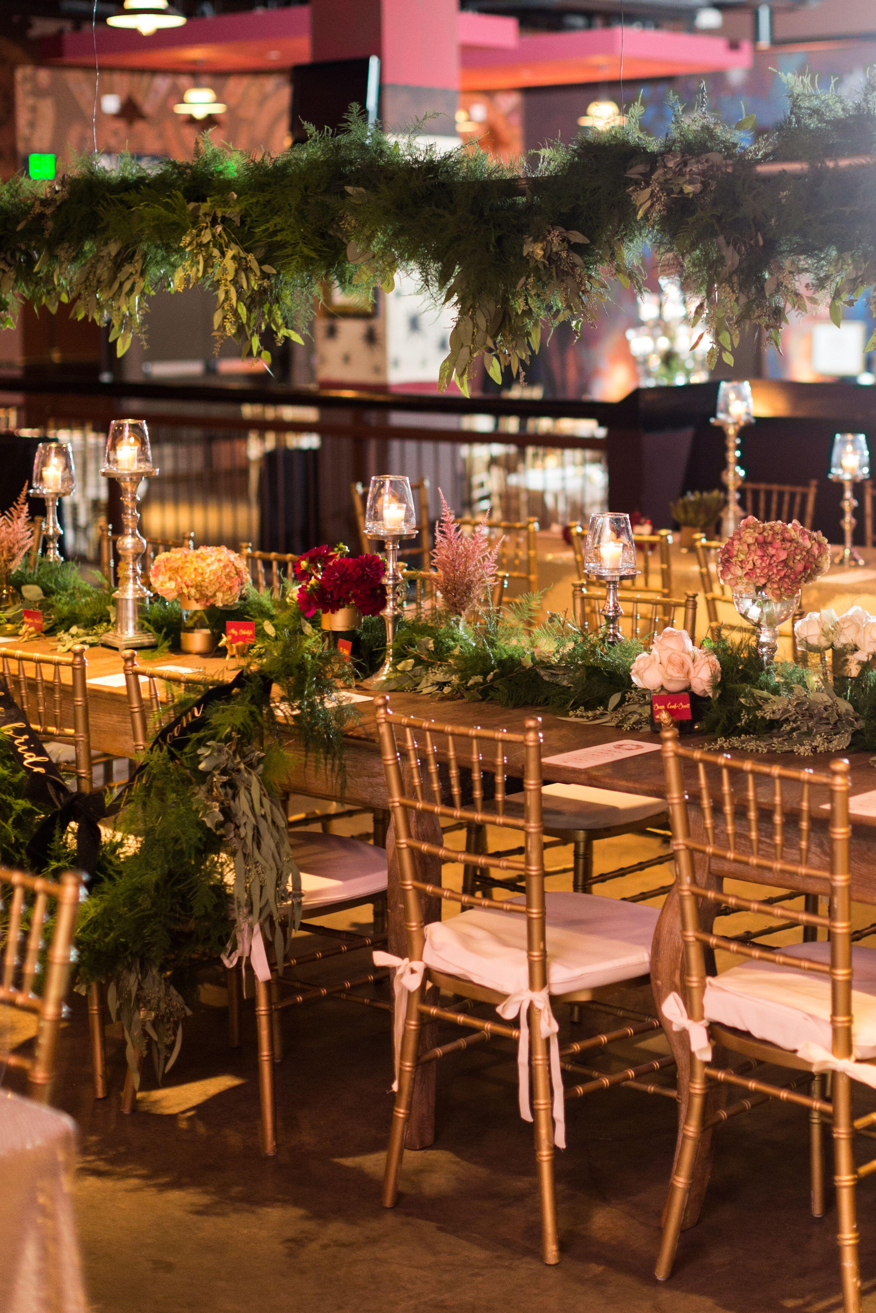 A Midsummer Night S Dream Reception Decor