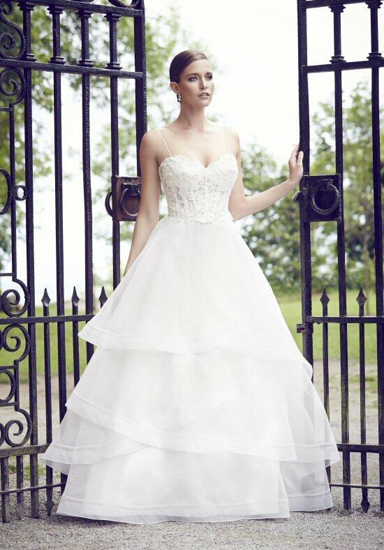 Paloma Blanca 4555 Wedding Dress photo