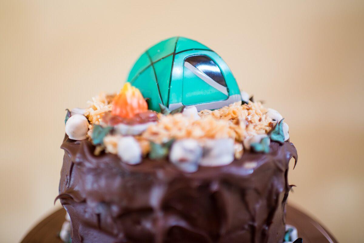 German Chocolate Groom S Cake
