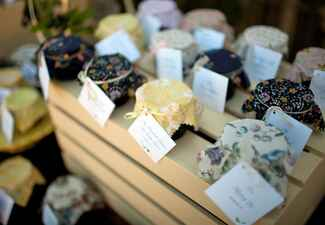 Jelly Favors // John & Joseph Photography // Planner: Details Details // Location: Ponte Winery
