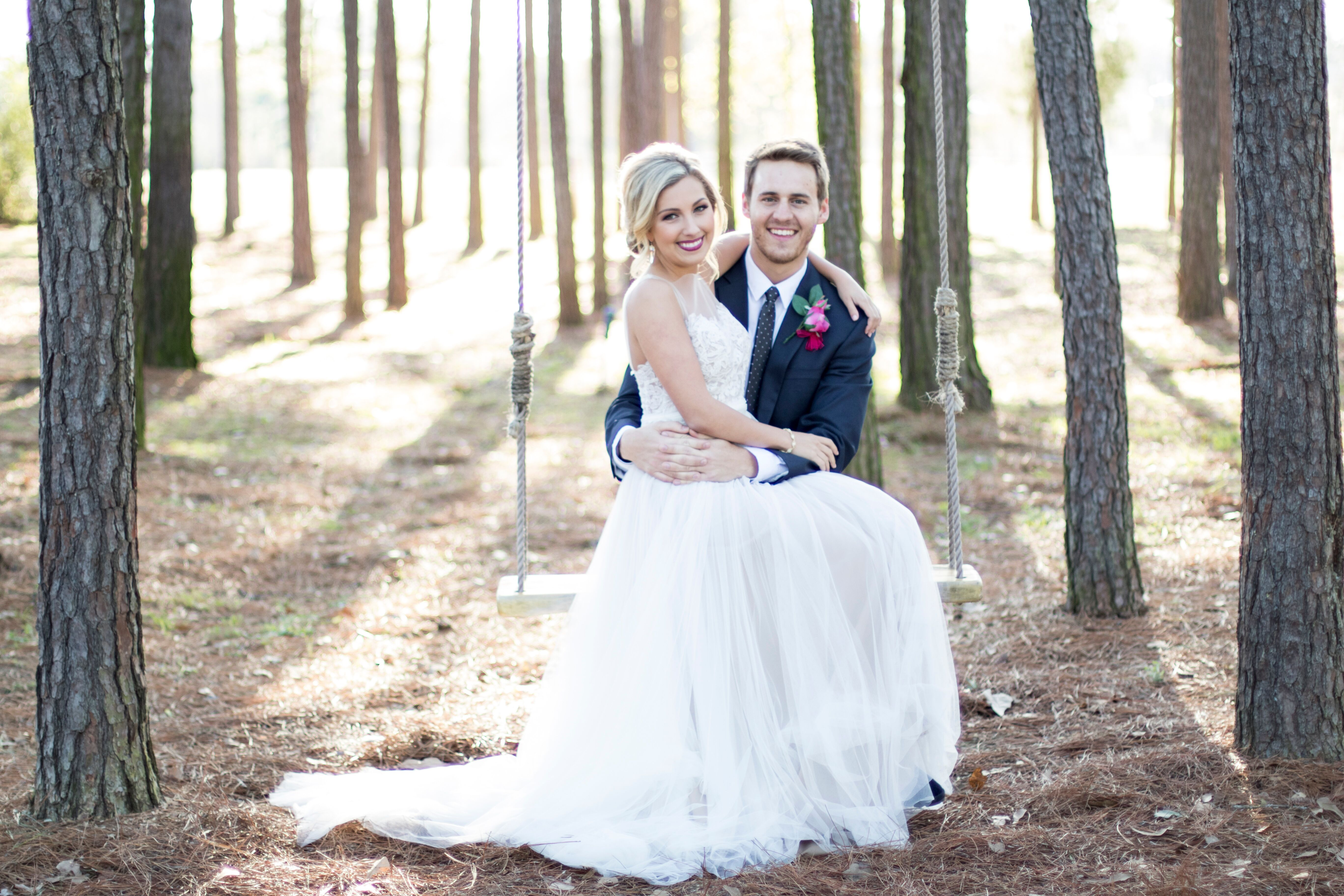 An Elegant Rustic Wedding At Crystal Springs In Magnolia Texas