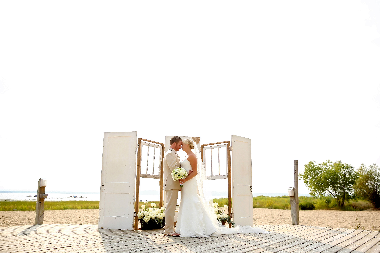 real weddings waterfront wedding montauk album