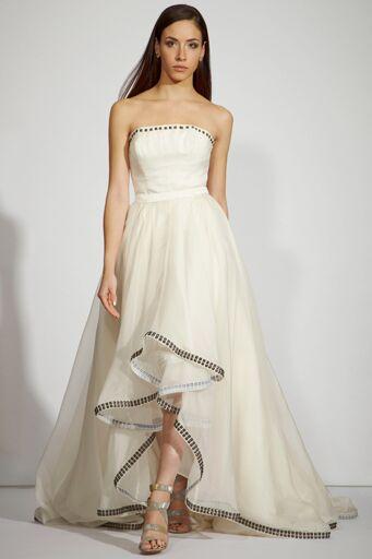 This Metal Stud Wedding Dress