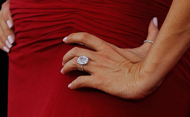 Sofia Vergara Engagement Ring At The SAG Awards