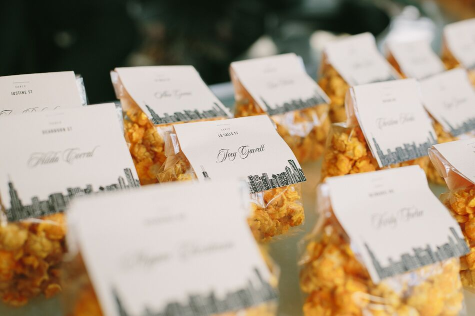 Garretts Popcorn Wedding Favors