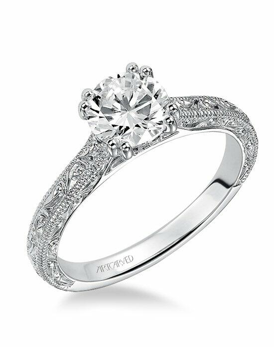 ArtCarved 31-V432ERW Engagement Ring photo