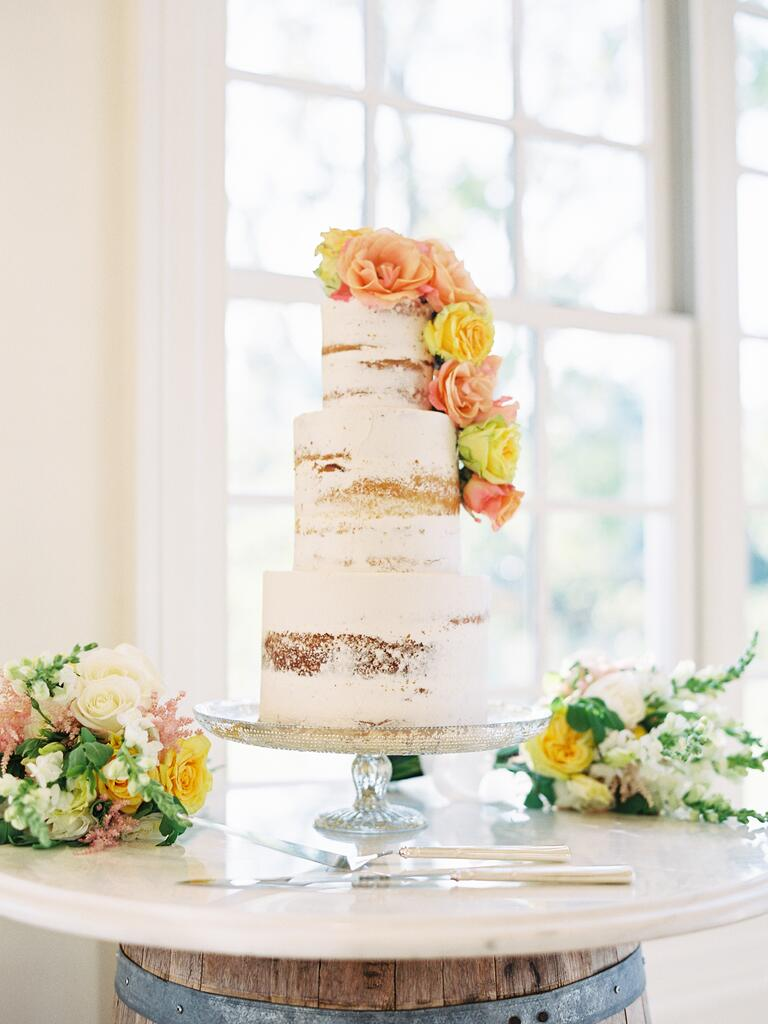 Buttercream Bakeshop Peekaboo Cake