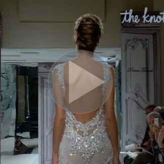 Sexy, low-back wedding dresses.