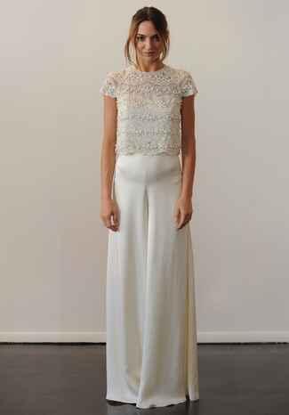 Temperley Fall 2016 Collection Wedding Dress Photos