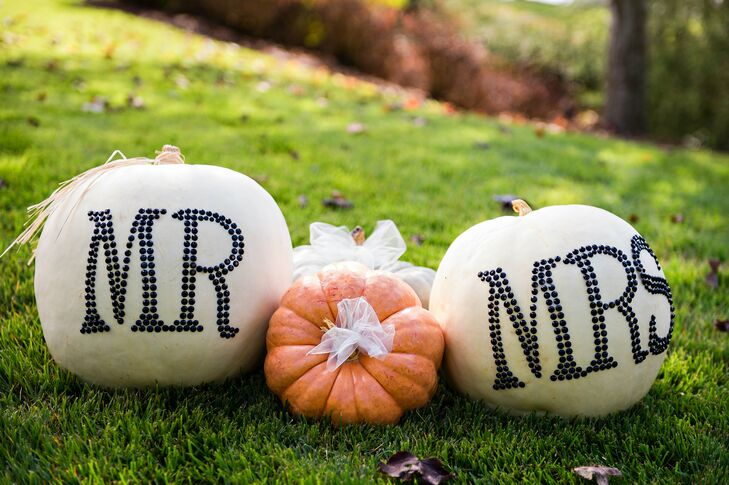 Pumpkin Fall Ceremony Decor