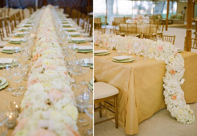 9 flower table runners youll love junglespirit Choice Image