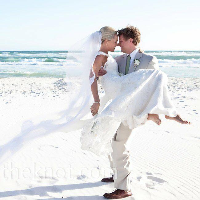 A Vintage Beach Wedding In Rosemary FL