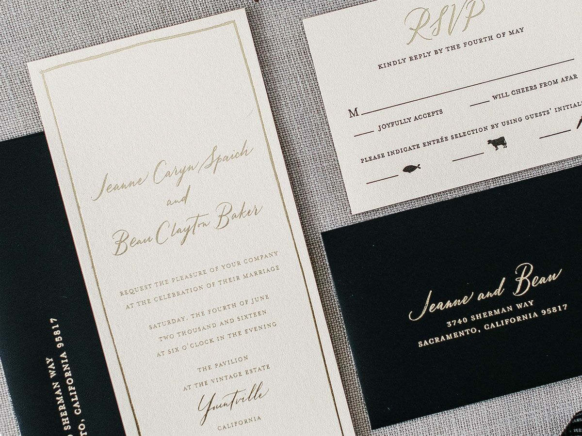 Do You Put Names On Wedding Invitations: How To RSVP To A Wedding