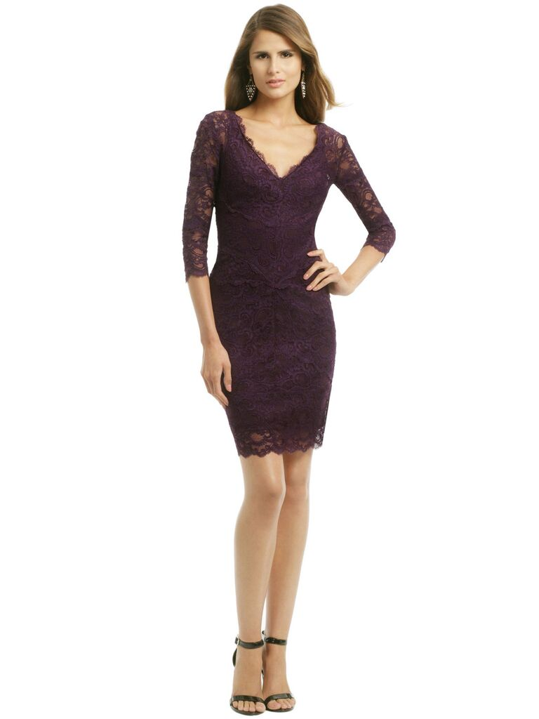 What to wear to a fall wedding 60 dresses for guests rent the runway burgundy lace dress junglespirit