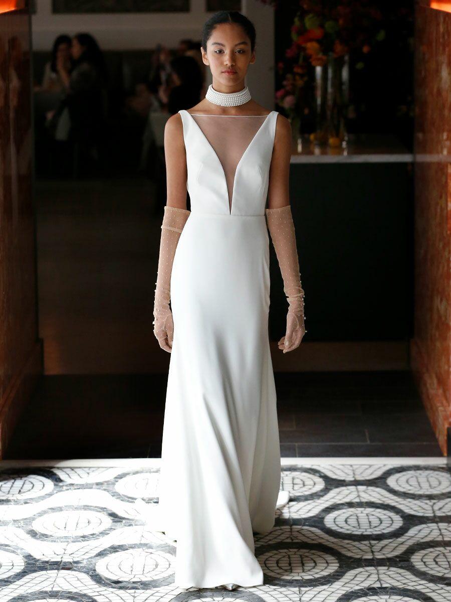 5b645940b524 Lela Rose Spring 2018 Collection: Bridal Fashion Week Photos