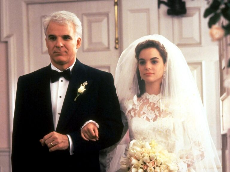 Father Of The Bride Movie Walking Down Aisle Scene