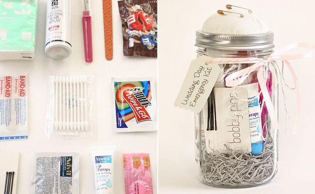 Whoa. This DIY Wedding Day Emergency Kit Is Genius.