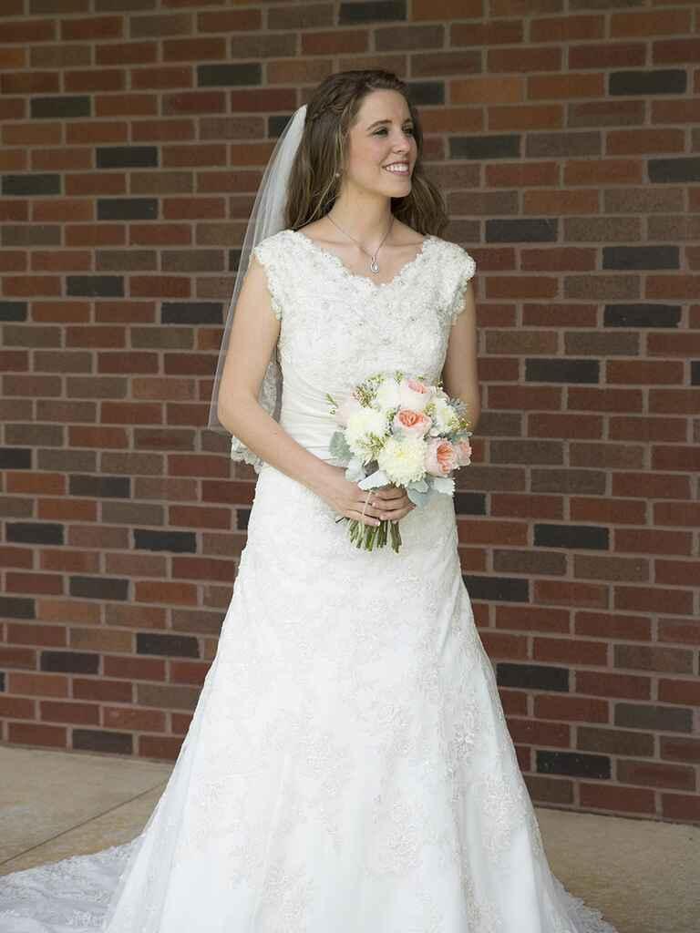 Jill Duggar S Wedding Dress Get The Look