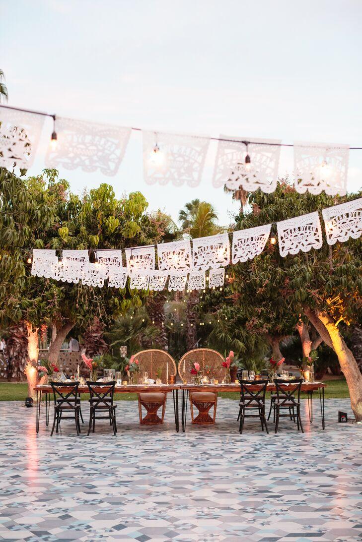 A Bohemian, Mid-Century Wedding at Acre Baja in San José del Cabo ...