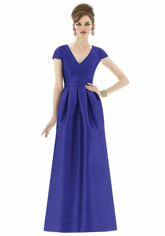 The Dessy Group Maids Alfred Sung Style D657 Bridesmaid Dress photo