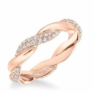 rose gold wedding rings - A Wedding Ring