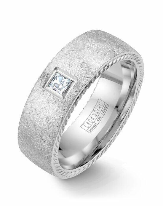 CrownRing WB-013RD8W-M10 Wedding Ring photo