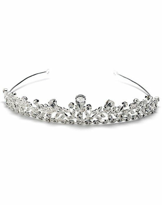 USABride Erica Rhinestone Crown TI-149 Wedding Accessory photo