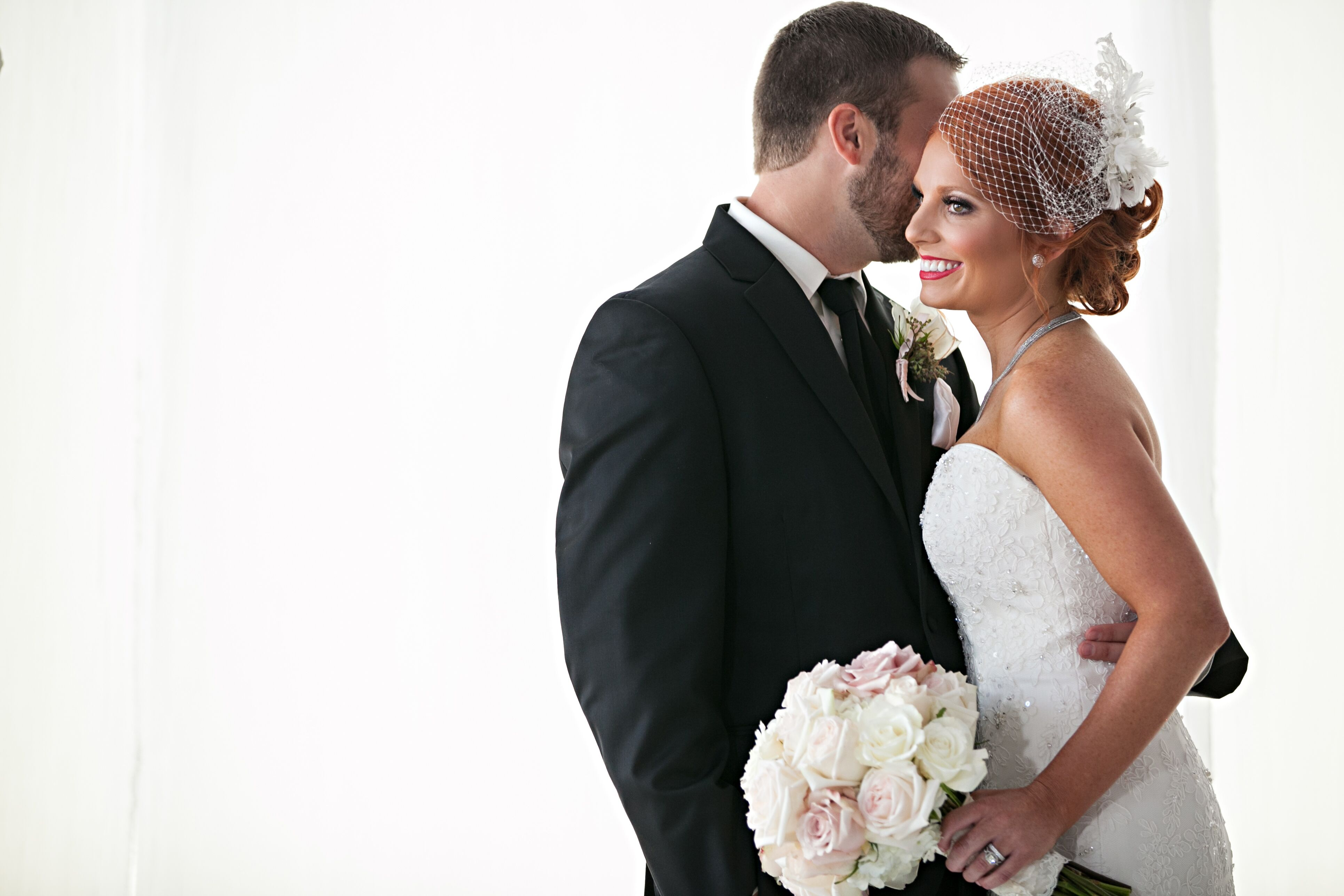A Classic Blush and Ivory Loft Wedding at Abode Venue in Wichita ...