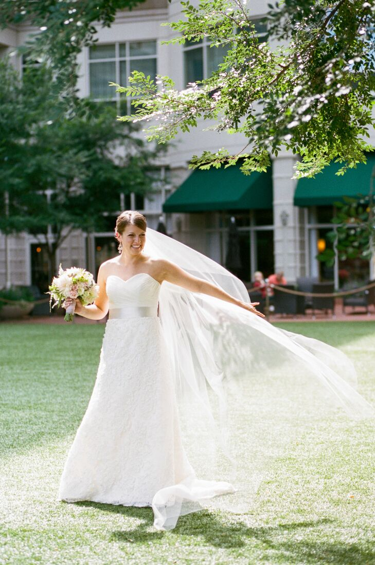 A formal navy wedding in greenville sc for Wedding dress shops greenville sc