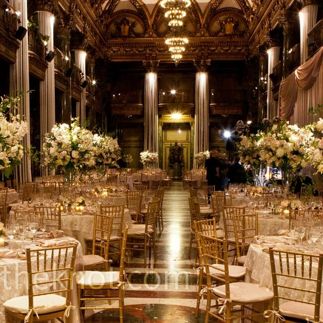 Evening Wedding Reception Decoration Ideas: Elegant And Formal Reception